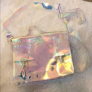 Crossbody transparency bag